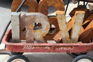 IRV letters in wagon